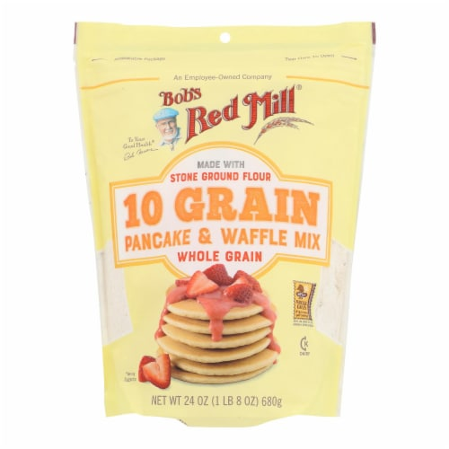 Bob's Red Mill 10 Grain Pancake & Waffle Mix Perspective: front
