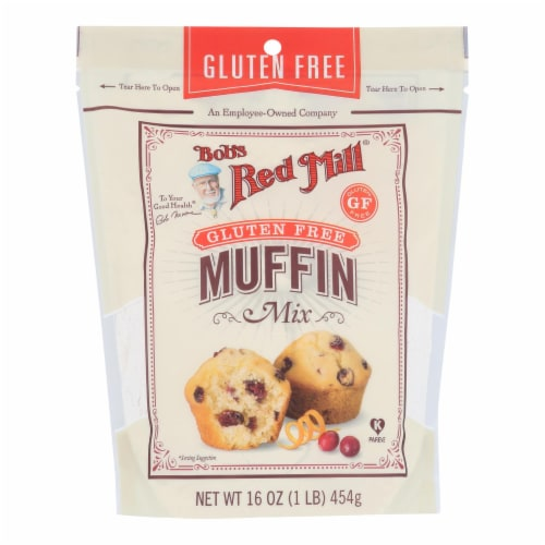 Bob's Red Mill - Muffin Mix Gluten Free - Case of 4-16 OZ Perspective: front