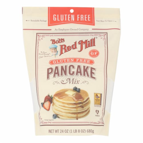 Bob's Red Mill - Pancake Mix Gluten Free - Case of 4 - 24 OZ Perspective: front