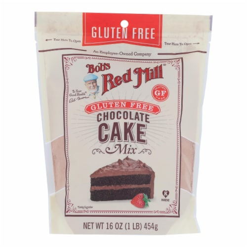 Bob's Red Mill - Cake Mix Chocolate Gluten Free - Case of 4-16 OZ Perspective: front