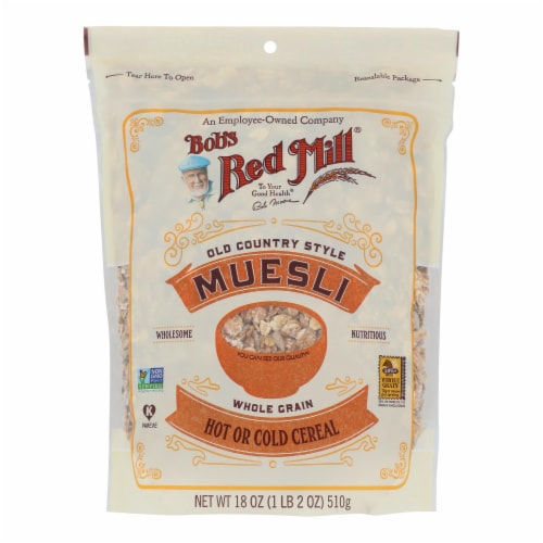 Bob's Red Mill® Old Country Style Muesli Hot or Cold Cereal Perspective: front