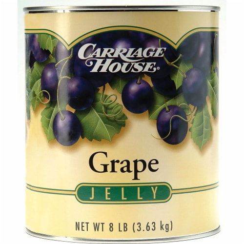 Jelly Carriage House Concord Grape 6 Case 10 Can Perspective: front