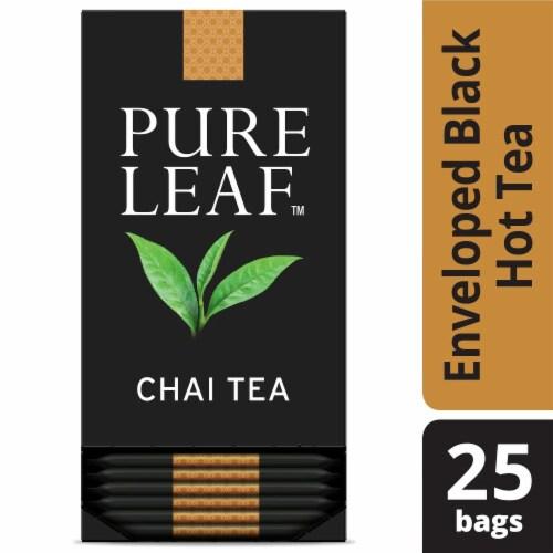 Pure Leaf Chai Enveloped Hot Tea Bags, 25 count -- 6 per case Perspective: front