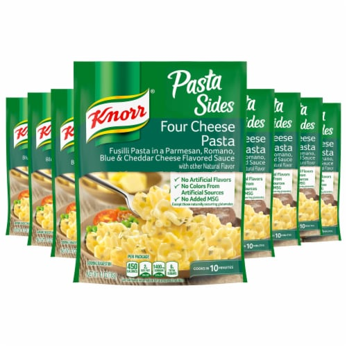 Knorr Pasta Sides Four Cheese Pasta Perspective: front