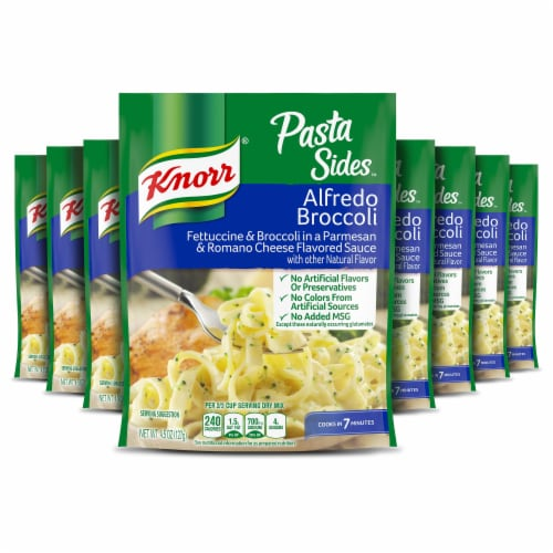 Knorr Pasta Sides Alfredo Broccoli Side Dish Perspective: front
