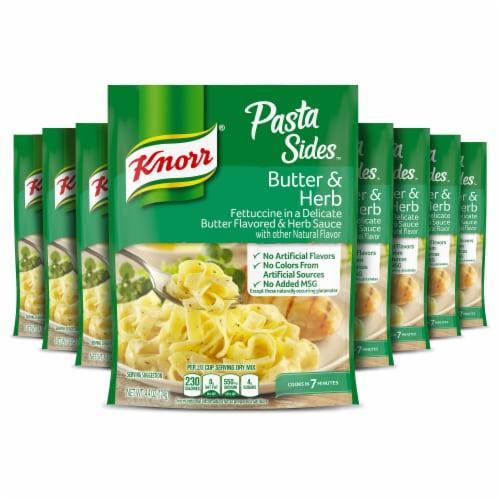 Knorr Pasta Sides Butter & Herb Fettucine Perspective: front