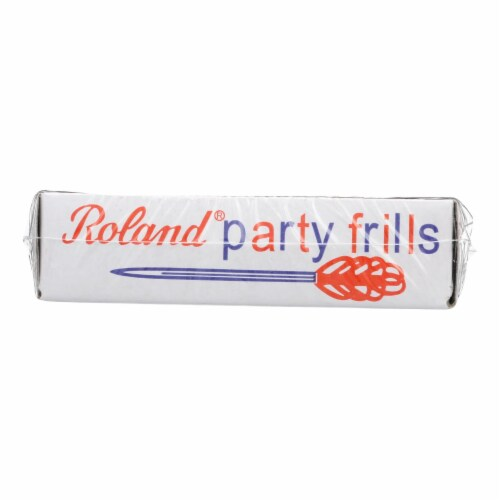 Roland Products - Toothpicks Frilled - Case of 24 - 48 CT Perspective: front