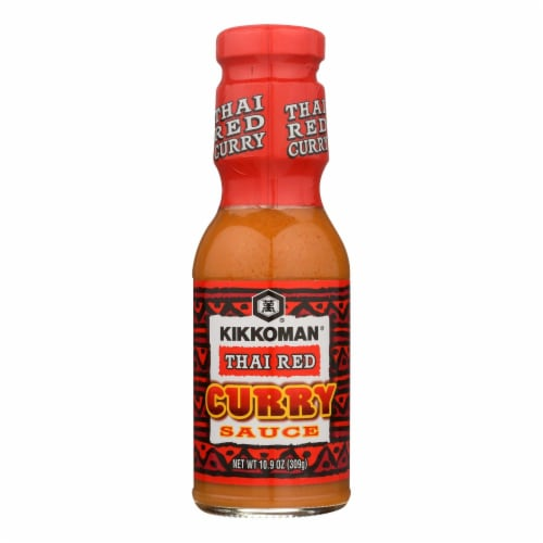 Kikkoman Sauce - Thai Red Curry - Case of 6 - 10.9 oz Perspective: front
