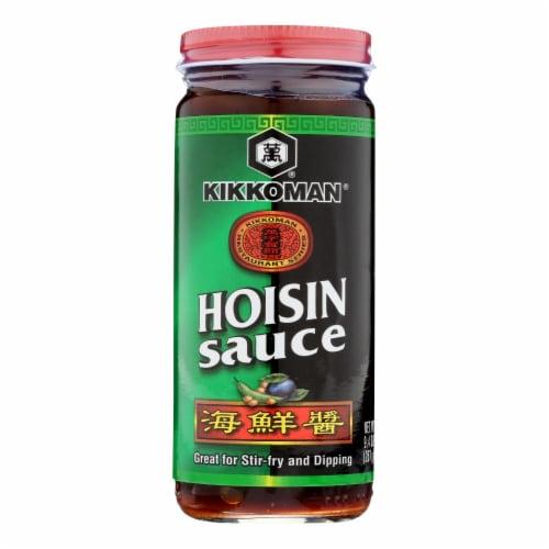 Kikkoman Hoisin Sauce - Case of 12 - 9.3 fl oz Perspective: front