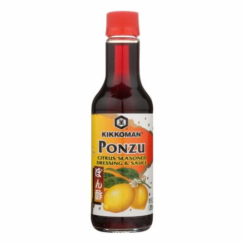 Kikkoman Ponzu - Citrus - Case of 12 - 10 Fl oz. Perspective: front