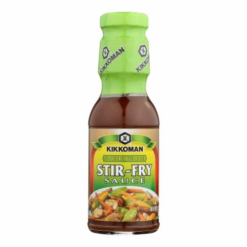 Kikkoman Stir Fry Sauce Perspective: front