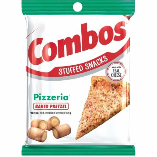 Combos Pizzeria Pretzel Snacks Perspective: front