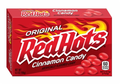 Red Hots Original Cinnamon Candy Perspective: front