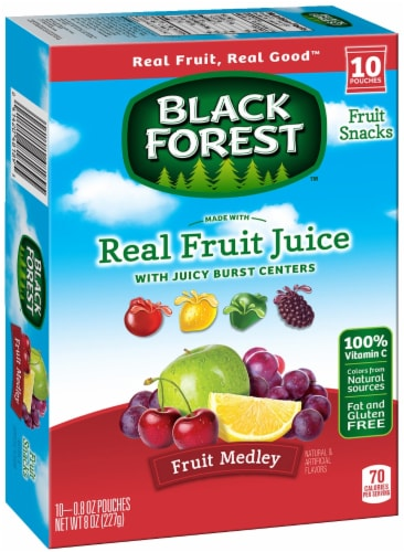 Black Forest Fruit Medley Fruit Snack, 0.5 Pound -- 10 per case. Perspective: front