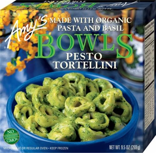 Amy's Vegetarian, Pesto Tortellini Bowl (Gluten Free), 9.5 oz. (12 Count) Perspective: front