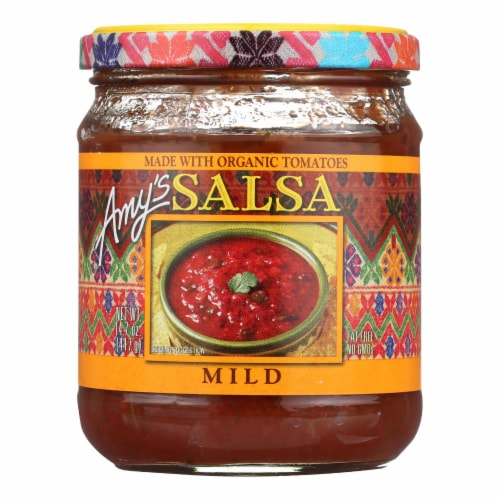 Amy's Mild Salsa Perspective: front