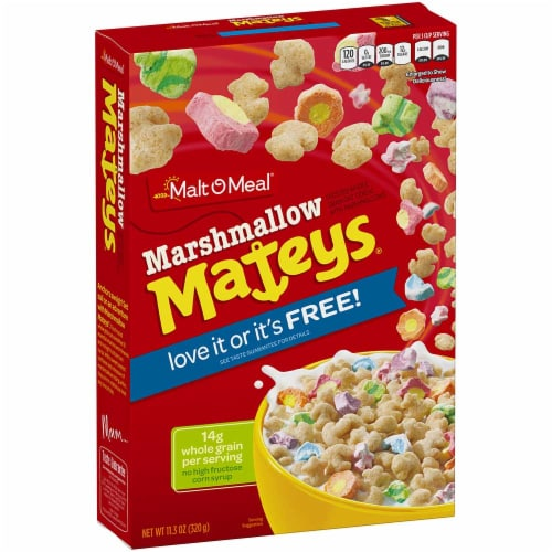 Marshmallow Mateys Cold Cereal, 11.3 Ounce -- 16 per case. Perspective: front
