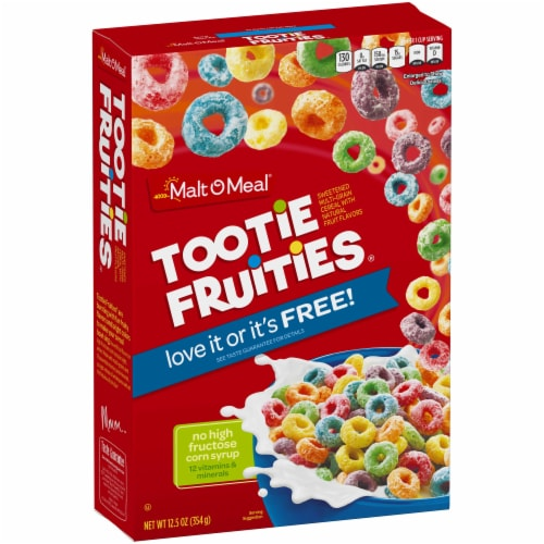 Tootie Fruities Cold Cereal, 12.5 Ounce -- 14 per case. Perspective: front