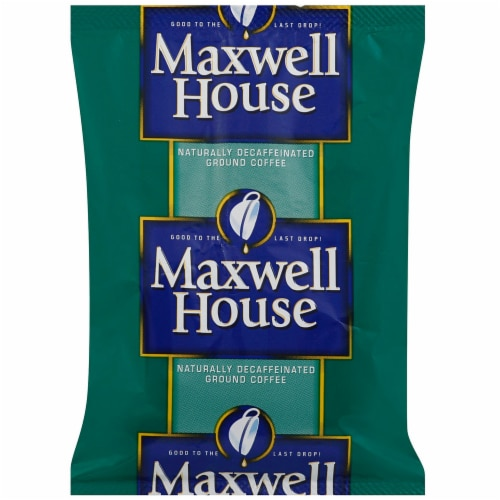 Maxwell House Decaf Office Coffee Service - 1.5 oz. pouch, 42 pouches per case Perspective: front