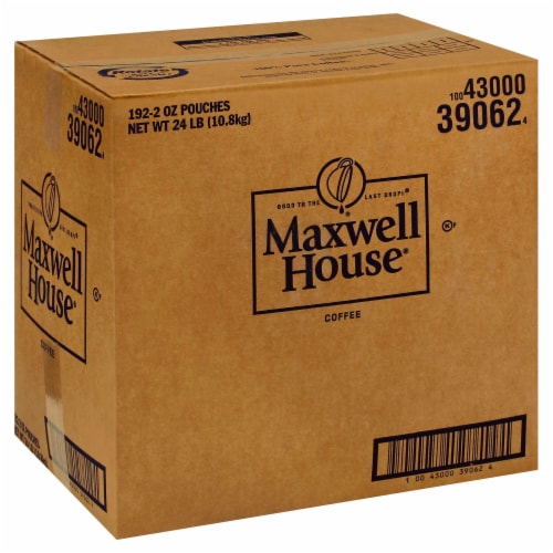 Maxwell House Ground Coffee - 2 oz. fractional pack, 192 packs per case Perspective: front