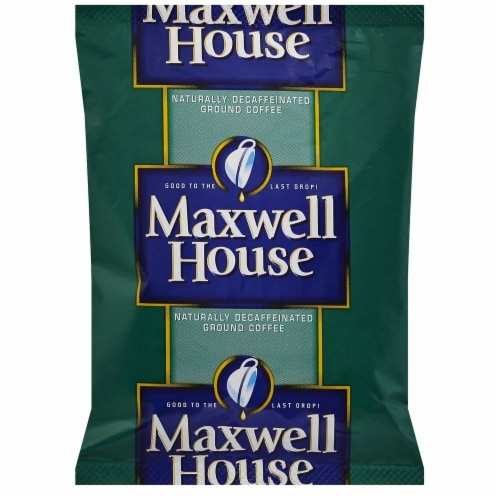 Maxwell House Ground Decaffeinated Coffee, 46.2 Ounce -- 1 each. Perspective: front