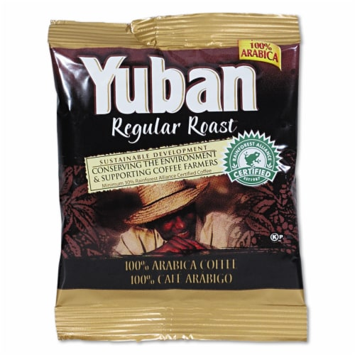 Yuban 100 Percent Colombian Coffee, 1.5 Ounce -- 42 per case. Perspective: front