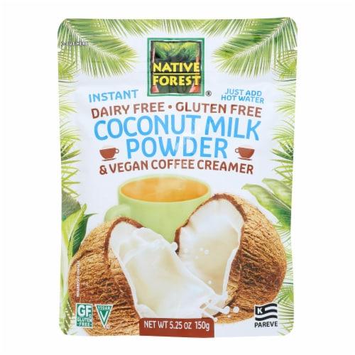 Native Forest Vegan Milk Powder - Coconut - Case of 6 - 5.25 oz. Perspective: front