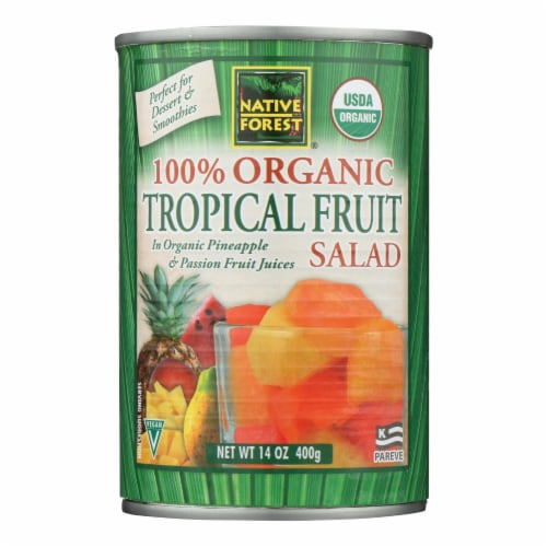 Native Forest Tropical Fruit Salad - Case of 6 - 14 oz. Perspective: front