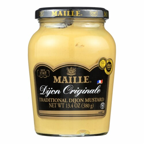 Maille Dijon Mustard - Original - Case of 6 - 13.4 oz. Perspective: front