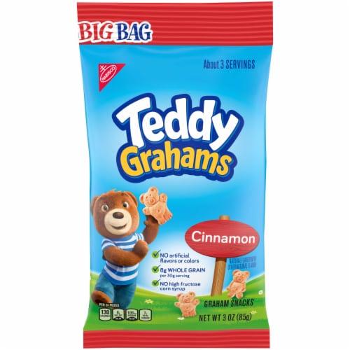 Teddy Grahams Cinnamon - 3 oz. big bag, 12 per case Perspective: front