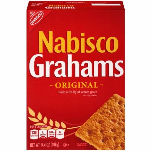 Nabisco Grahams Original Cracker Perspective: front