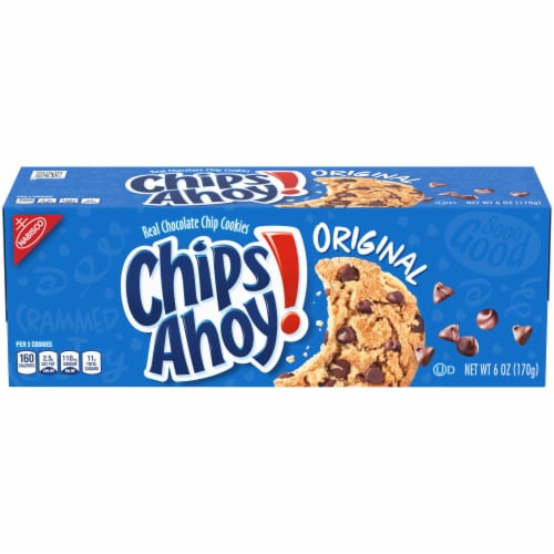 Nabisco Chips Ahoy Chocolate Chip Cookies, 6 Ounce -- 12 per case Perspective: front