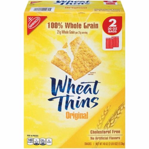 Nabisco Wheat Thins Original Cracker, 2.5 Pound -- 4 per case. Perspective: front