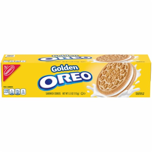 Oreo Golden Pepper Convenience Sandwich Cookies, 5.5 Ounce -- 12 per case. Perspective: front