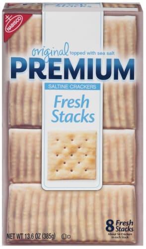 Nabisco Original Premium Fresh Stacks Saltine Crackers Perspective: front