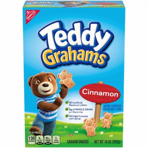Teddy Grahams Cinnamon - 10 oz. box, 6 per case Perspective: front