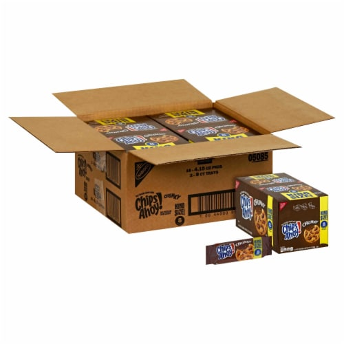 Chips Ahoy Chocolate Chunk Cookie, 4.15 Ounce -- 16 per case. Perspective: front