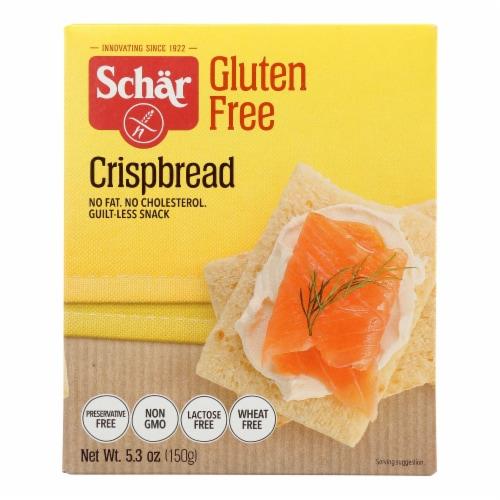 Schar - Crispbread Gluten Free - Case of 6-5.3 OZ Perspective: front