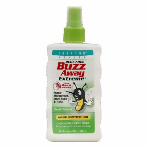 Quantum Deet-Free Insect Repellent, 8 OZ Perspective: front