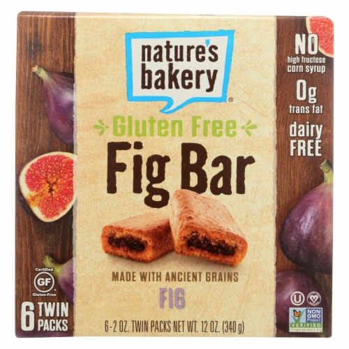 Nature's Bakery Gluten Free Fig Bar - Original - Case of 6 - 2 oz. Perspective: front