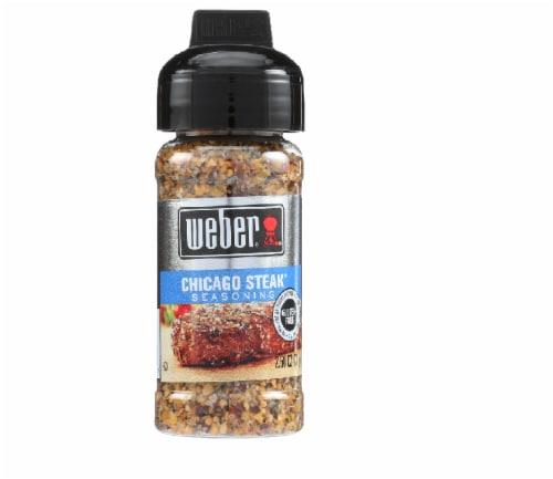 Weber Chicago Steak Seasoning, 2.5 OZ (Pack of 6) Perspective: front
