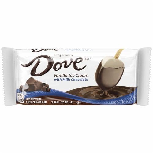 Dovebar Singles - Vanilla/Milk Chocolate (12 Count) Perspective: front