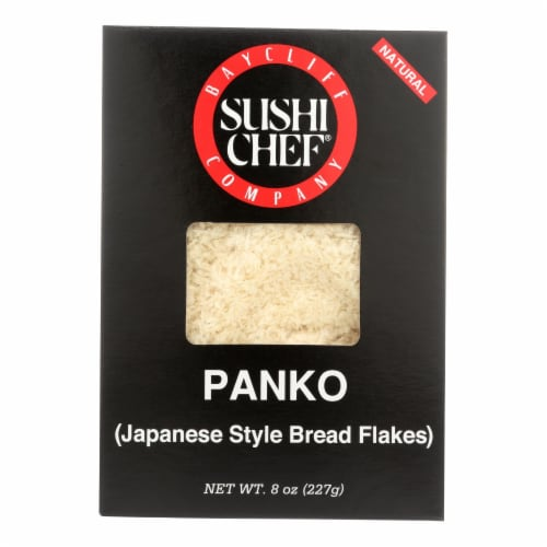 Sushi Chef Japanese Bread Flakes Panko - Case of 6 - 8 oz. Perspective: front