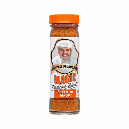 Chef Paul Prudhommes Seafood Magic Seasoning Blends, 2 OZ (Pack of 6) Perspective: front