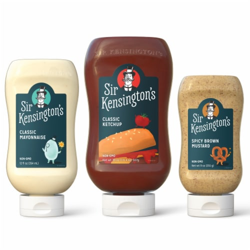 Sir Kensington's Classic Condiment Mixed Picnic Pack Perspective: front