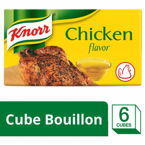 Knorr® Extra Large Chicken Bouillon Cubes (24 pack) Perspective: front