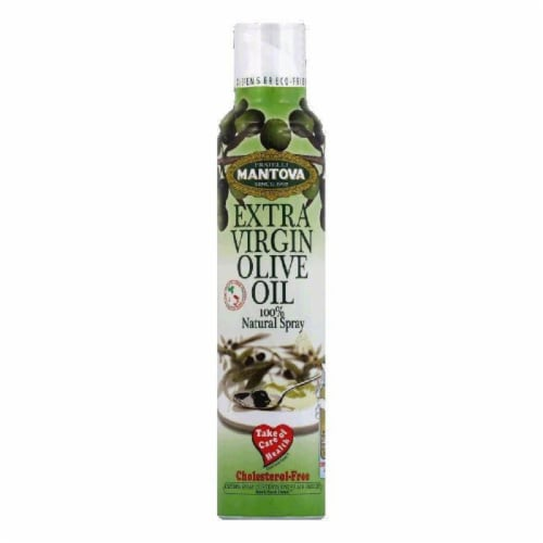 Mantova Extra Virgin Olive Oil Spray, 8.5 OZ (Pack of 6) Perspective: front