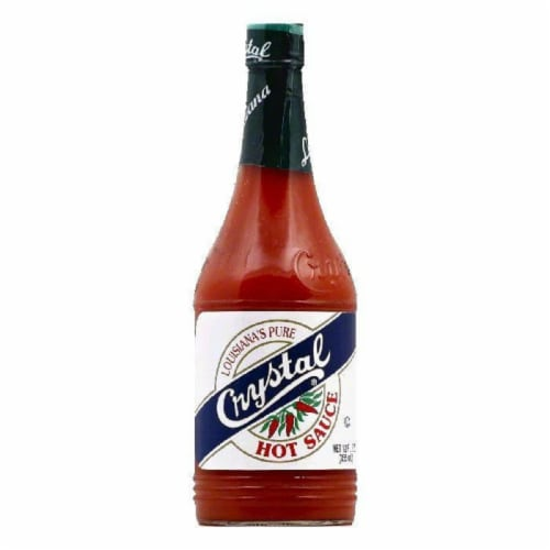 Crystal Louisiana's Pure Hot Sauce, 12 OZ (Pack of 12) Perspective: front