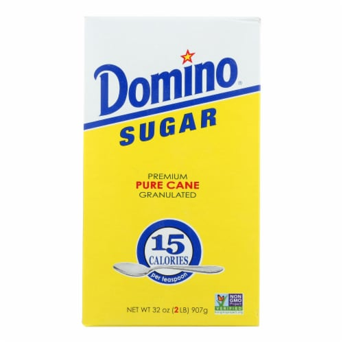 Domino Sugar - Granulated - Case of 24 - 32 oz. Perspective: front