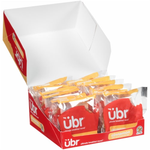 Ubr Ultimate Breakfast Round Breakfast Cookies, Cinnamon, Individually Wrapped, Pack of 12 Perspective: front